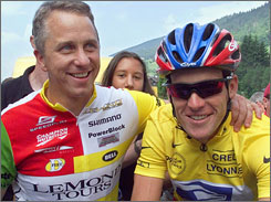 The rift between American cycling icons Greg LeMond and Lance Armstrong has resulted in a separation between LeMond and Trek Bicycle Corp.
