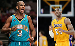 Chris Paul and Kobe Bryant have made their cases for being named NBA's Most Valuable Player, as each has his own team atop the Western Conference.