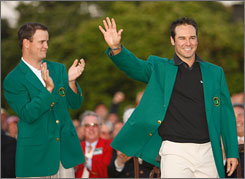 Trevor Immelman joins the list of Masters champions after his impressive win at Augusta National.