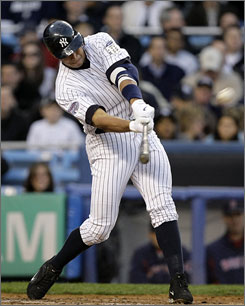 New York's Alex Rodriguez connects for his 522nd home run, passing Ted Williams and Willie McCovey on the all-time list. The solo blast gave the Yankees a 3-1 lead early in a 15-9 win over the Red Sox.