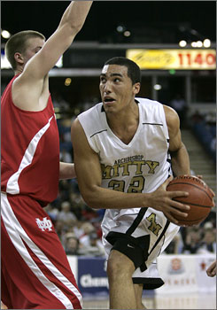 UCLA-bound Drew Gordon attributed his growth as a basketball player to his Archbishop Mitty (San Jose, Calif.) coach.