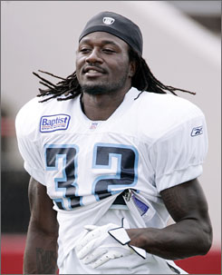 The Titans agreed to trade cornerback Adam &quot;Pacman&quot; Jones to the Dallas Cowboys on Wednesday.