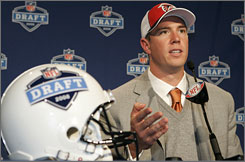 The Atlanta Falcons selected Matt Ryan with the third pick in the NFL draft.