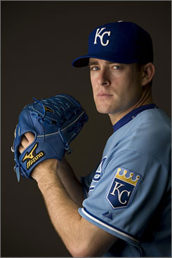 The Royals' Brian Bannister is 3-3 with a 4.04 ERA. The 'completely different' Bannister and Greinke have combined to give the Royals an effective one-two punch on the mound.