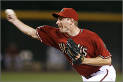 The Diamondbacks are smiling after calling up Max Scherzer, who struck out seven Astros in his major league debut.