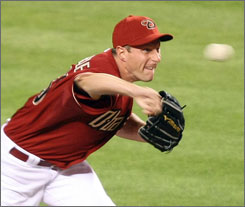 Max Scherzer retired all 13 hitters he faced in his major league debut last Tuesday. That performance was good enough to get him promoted to the Diamondbacks starting rotation  he'll take the mound against the Phillies tonight.