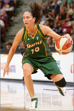 Storm point guard Sue Bird is excited about the changes the team has made. Seattle finished 17-17 last season and lost in the West semifinals.