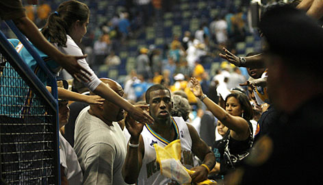 In the aftermath of Hurricane Katrina, Hornets guard Chris Paul has given New Orleans fans something to be excited about.