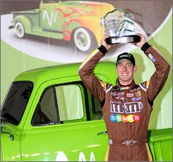 Kyle Busch won his second pole of the season on Thursday.