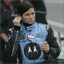 Danica Patrick has a fourth-place finish and two eighth-place efforts in her career at Indianapolis.