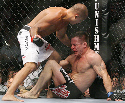 BJ Penn Sean Sherk UFC