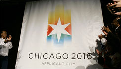 The IOC named Chicago as one of the four finalists for the 2016 Olympic games. The winning bid will be announced in October, 2009.