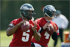 Donovan McNabb and the Eagles are looking to rebound from a last-place finish in the NFC East, albeit with an 8-8 record.