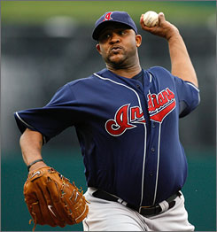 2007 American League Cy Young Award winner C.C. Sabathia started slowly this season, but he shut out the Twins for a 1-0 win in his last start.