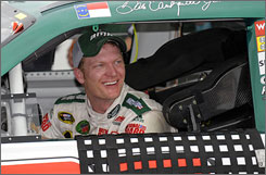 Although Sunday's victory at Michigan International Speedway was his first win in 76 races, Dale Earnhardt Jr. is only 52 points behind  leader Kyle Busch.