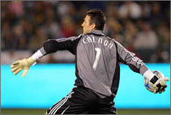 "San Jose Earthquakes goalkeeper Joe Cannon says his ""team still has a lot to offer."""