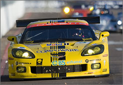 "American Le Mans Series driver Johnny O'COnnell says the future will produce more efficient cars that are more environmentally friendly, but until then, ""We're doing the best we can."""