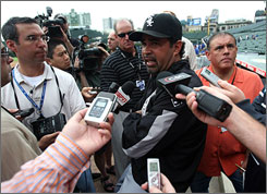 Wherever White Sox manager Ozzie Guillen goes, the media is sure to follow  especially when the opponent is the cross-town Cubs and the site is Wrigley Field.