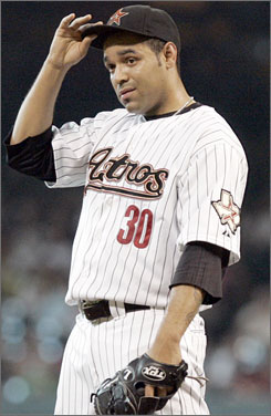 Shawn Chacon was released by Houston after a reported altercation with Astros general manager Ed Wade.