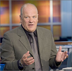 "Scotland's Andy Gray is analyzing Euro 2008 matches from the ESPN studios in Bristol, Conn. He's like to be at the tournament, ""but this is the next best thing,"" he says."