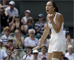 Jelena Jankovic can claim the No. 1 ranking in women's tennis at Wimbledon, even without ever winning a Grand Slam title.