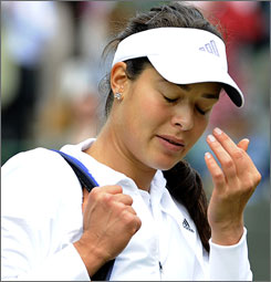 Ana Ivanovic's exit from Wimbledon means the women's draw will be without back-to-back winners for the record-tying 18th consecutive Grand Slam event.