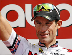 George Hincapie was named to his fifth Olympic cycling team on Tuesday.