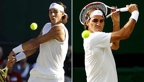 Rafael Nadal and Roger Federer are on a collision course to meet once again in a Grand Slam final. But can Federer hold off the hard-charging Nadal on grass once again?