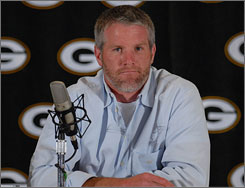 Publicly Brett Favre says he has no desire to play in 2008. But the possibility that he may don a uniform this season  even for a team other than the Packers  still exists.