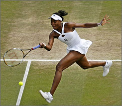 Venus Williams won her third Wimbledon title in the last four years by defeating her sister Serena.