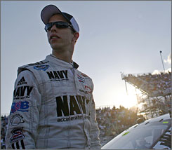 Brad Keselowski has run off a streak of seven consecutive top-10 finishes in the Nationwide Series.