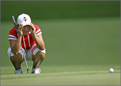 Se Ri Pak is already a LPGA and Golf Hall of Famer and she still inspires generations of golfers in South Korea.