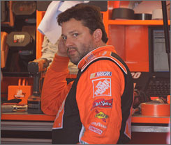 Tony Stewart's 10-year Sprint Cup career with Joe Gibbs will end this season.