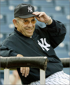 Three-time MVP Yogi Berra may be the former Yankee most deserving of the designation. He was also 192-148 (.565) as Yankees manager.