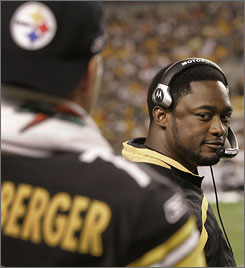 """Coach Mike Tomlin won't let high turnover be a reason the Steelers, who've had just one year with a losing record this decade, stop their winning ways. """"There are big names you can point to in any city  players or coaches  that move on,"""" he said. """"That's part of it."""""""