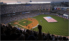 Yankee Stadium was charged with excitement during the pregame festivities at the 79th MLB All-Star Game.