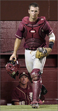 Florida State catcher Buster Posey became the recipient of the Golden Spikes Award on Wednesday. The Atlantic Coast Conference player of the year led the nation in three different categories and was selected as the fifth overall pick in the MLB draft.
