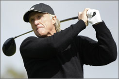 Even though Greg Norman almost became golf's oldest major champion, he will remain a part-time player.