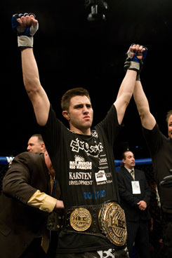 World Extreme Cagefighting earlier this year signed its welterweight champion, Carlos Condit, to a contract extension.