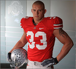 James Laurinaitis wanted his degree and his senior season at Ohio State before heading to the NFL.