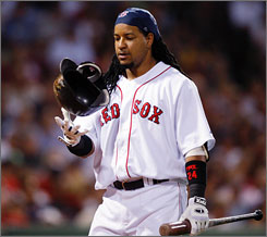 Manny Ramirez was unhappy in Boston and said he was willing to accept a trade. In the end, the Los Angeles Dodgers joined the Red Sox and Pittsburgh Pirates in a three-way deal to accommodate him.