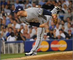 The Brewers' Ben Sheets, who started the 2008 All-Star Game, is probably the most accomplished player from the USA's 2000 Olympic team.