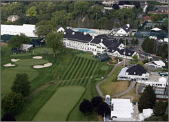 Oakland Hills is sporting a new look after its renovation in 2006.