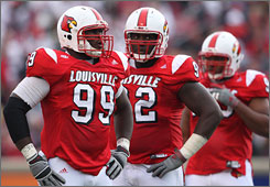 Louisville senior Earl Heyman hopes to help turn around a Louisville defense that struggled during the Cardinals' 6-6 campaign in 2007.