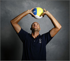 "Phil Dalhausser is 6-9 and nicknamed the ""Thin Beast."" He'll team with Todd Rogers to try to get the USA back on track after no U.S. men's team won a medal in beach volleyball in 2004."