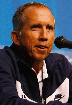 Davey Johnson, addressing the media Thursday, managed the Mets, Reds, Orioles and Dodgers for parts of 14 seasons, and had only three losing records.