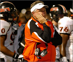 Rush Propst gets a fresh start this season as he tries to turn around the football team at Colquitt County, a team that went 2-8 last season and 14-18 the past three seasons.