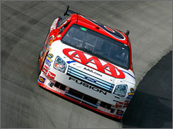 David Ragan, who trails the final Chase-eligible spot by 26 points, will have to start from the back of the pack in Saturday night's Sharpie 500. 