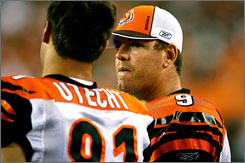 Bengals quarterback Carson Palmer has confidence in new defensive coordinator Mike Zimmer's unit. &quot;They're so disciplined and sound,&quot; Palmer says, &quot;you just have confidence that they're going to make people have to go 80-90 yards and not give up 60-yard chunks.&quot;