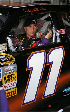 Denny Hamlin has finished third in his last three races. He has one win at Sunday?s site, New Hampshire Motor Speedway.